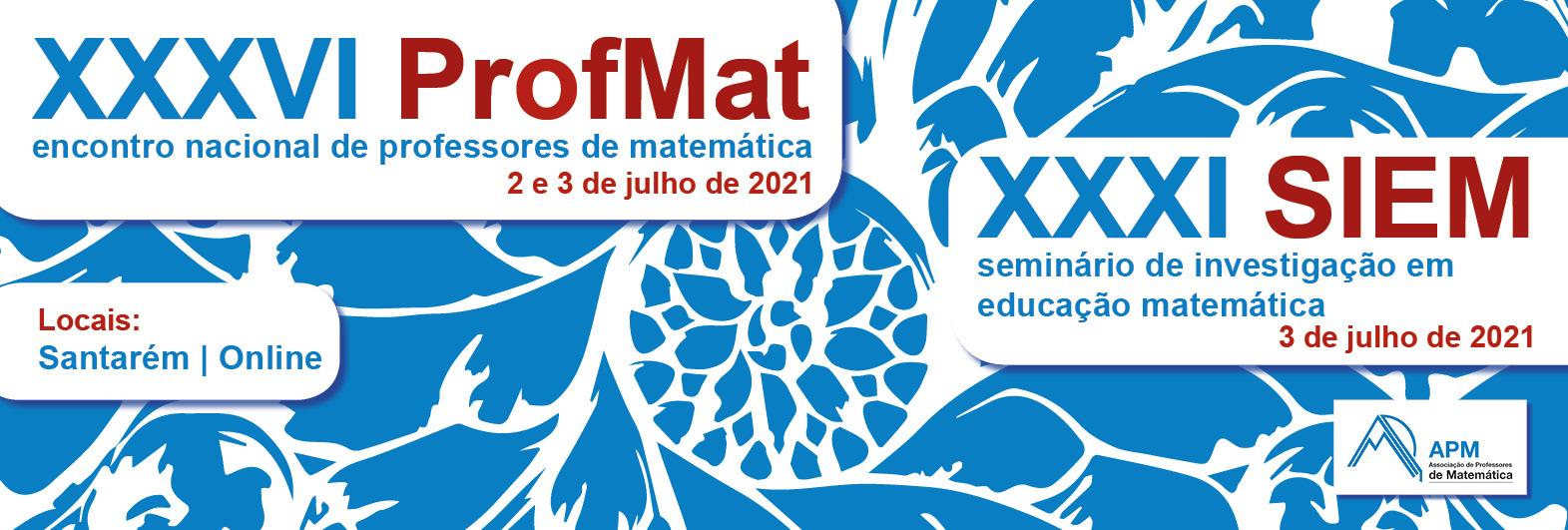 Banner ProfMat 2021 - Santarém